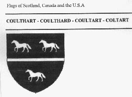 Coulthard coat of arms